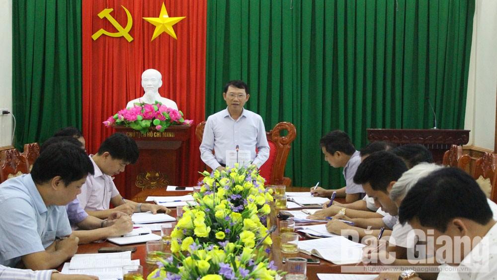 Phó Chủ tịch UBND tỉnh Lê Ánh Dương kết luận buổi làm việc